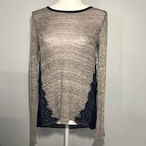 Society Girl   Lightweight Semi-Sheer Sweater